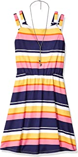 Amy Byer Girls' Big Fit & Flare Day Dress