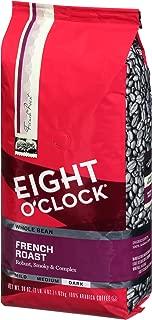 Eight O'Clock Whole Bean Coffee, French Roast, 36 Ounce