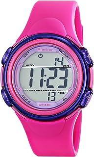 Armitron Sport Women's 45/7037MAG Magenta Resin Strap Watch