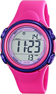 Armitron Sport Women's 45/7037MAG Magenta Resin Strap Watch
