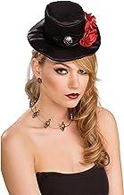 ルービーズ RUBIE'S バラ付きのゴシックミニシルクハット(品番49832) SEC-49832