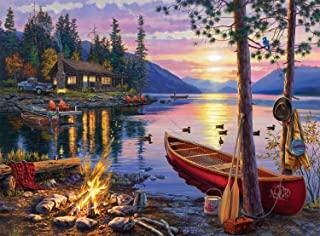Best Buffalo Games - Darrell Bush - Canoe Lake - 1000 Piece Jigsaw Puzzle Reviews