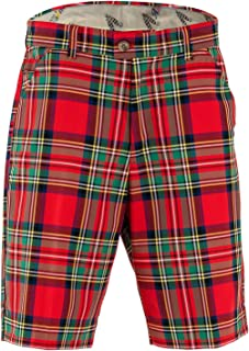Bright Funky Colourful Mens Golf Shorts