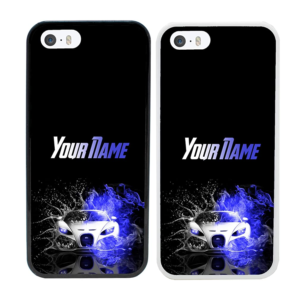 Boy Racer Personalised Phone Case for Apple iPhone 8 Smartphone Custom Cover Personal Your Name Bumper 4.7