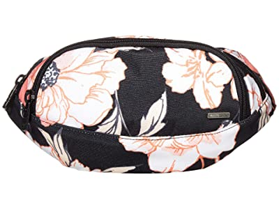Roxy Come Along Waist Pack (Anthracite S New Flowers) Bags