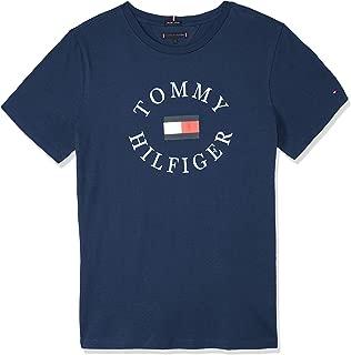 TOMMY HILFIGER Kids Essential Crew Neck Logo T-Shirt