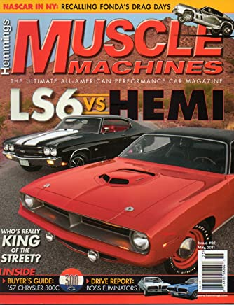 hemmings muscle machines #92 2011 the ultimate all-american performance car  magazine nascar in