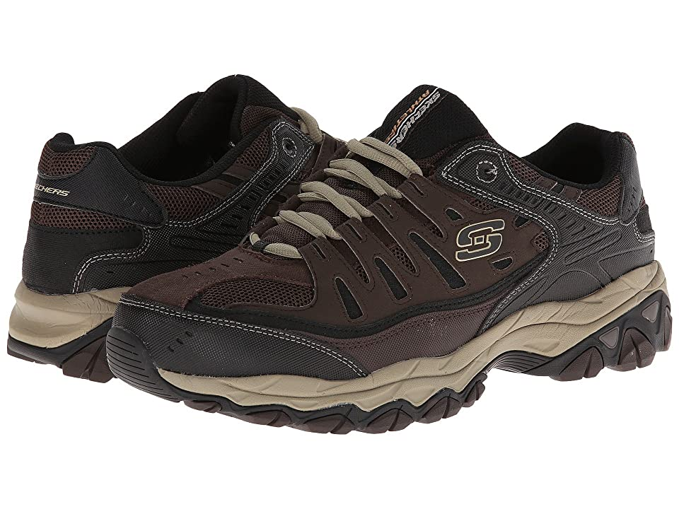 SKECHERS Afterburn M. Fit (Brown/Taupe) Men