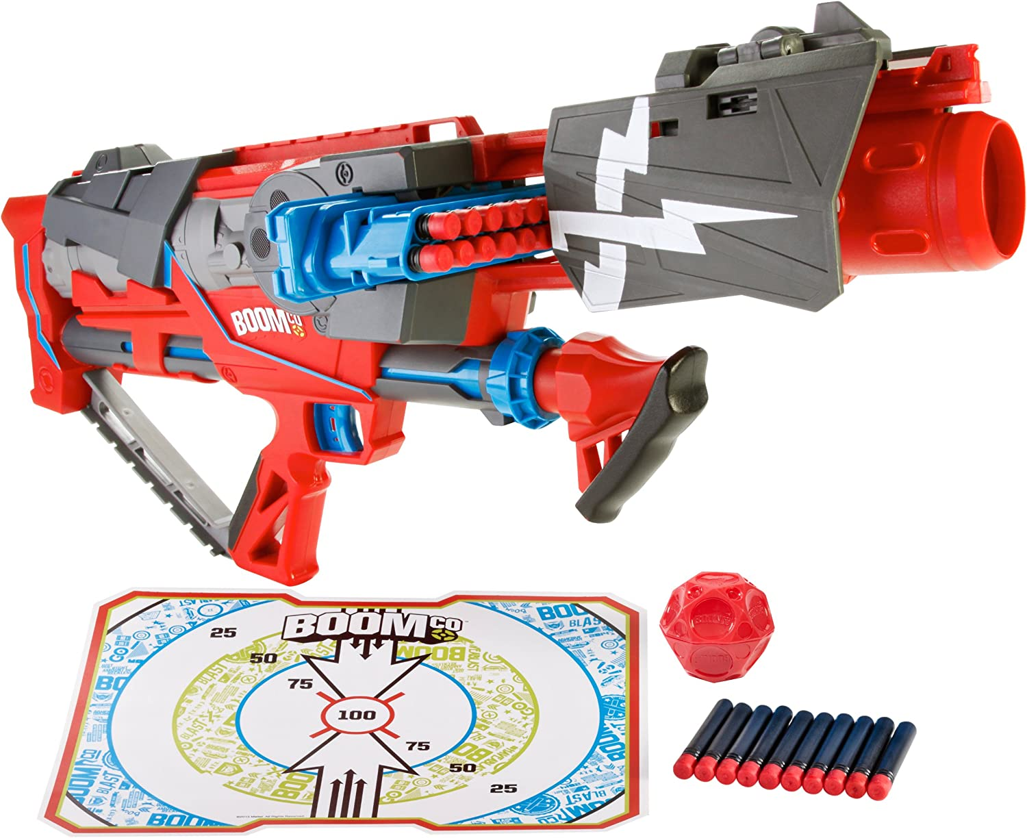 BOOMco. Rapid Madness Blaster with Rounds by BOOMco