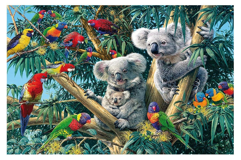 Twuky DIY 5D Diamond Painting,Wall Art Decor Cross Stitch Kit Crystals 5D Diamond Painting Embroidery Home Decor Craft Koala(12X18inch)
