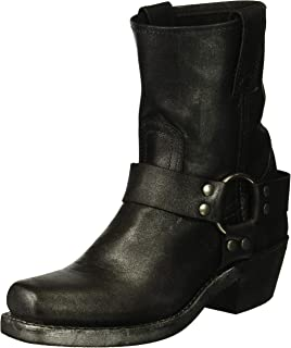 FRYE Women's Harness 8R Mid Calf Boot