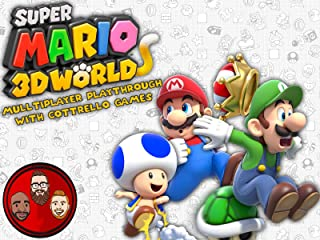 Super Mario 3D World Multiplayer Playthrough with Cottrello Games