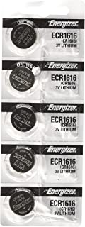 Energizer CR1616 3V Lithium Battery -Pack of 5