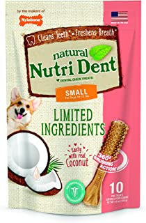 Nylabone Nutri Dent Coconut 10 Count Pouch - Small