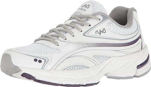 Ryka Wohommes Infinite SMW Walking chaussures, blanc gris, 8.5 M US