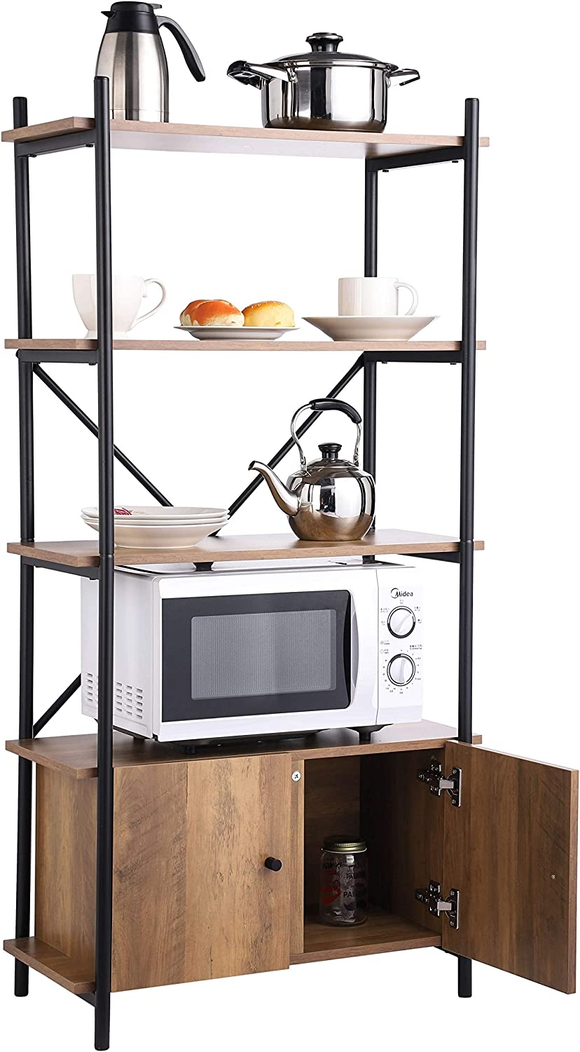 Grepatio Kitchen Bakers Rack Indus Multifunctional Cabinet Online Credence limited product with