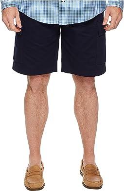 Broken Twill Cargo Bermuda Shorts