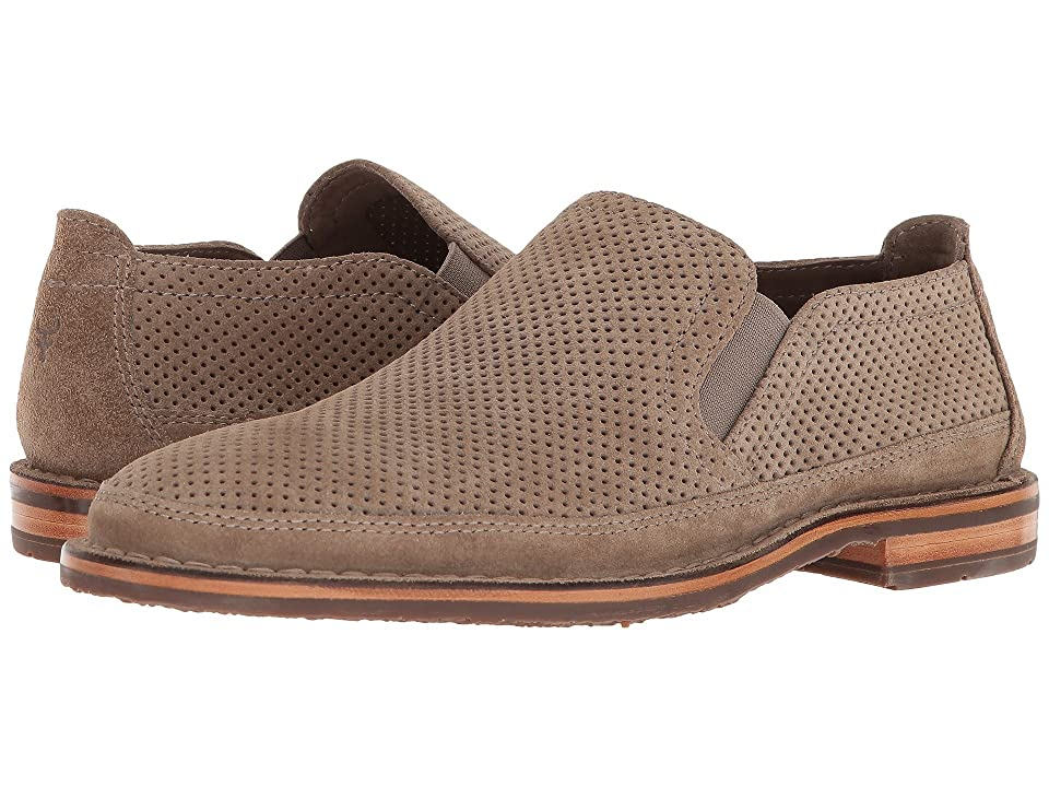 Trask Bradley Perf (Taupe Suede) Men