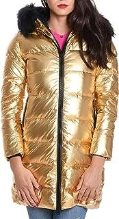 PEOPLE OF SHIBUYA Luxury Fashion Womens HIKONP010057 Gold Coat |