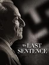 The Last Sentence (English Subtitled)
