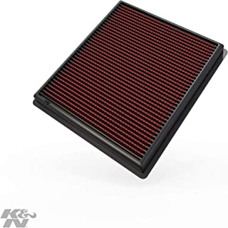 K&N engine air filter, washable and reusable:  2013-2019 Chevy/Cadillac V6 (Impala, XTS) 33-2483