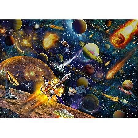 Puzzle 1000 Pièces Adultes 70x50cm Puzzle Espace Puzzle Adulte Puzzle Enfant Système Solaire