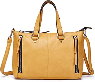 Purses and Handbags for Women Top Handle Tote Soft Shoulder Bags and Satchels for Work