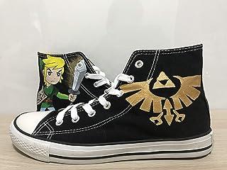 fd2db615a42afa The Legend of Zelda Custom Shoes For Men Painted Shoes Custom Chuck Taylors  Men Women FREE