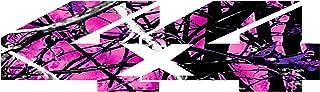 4 x 4 Hot Pink Camo