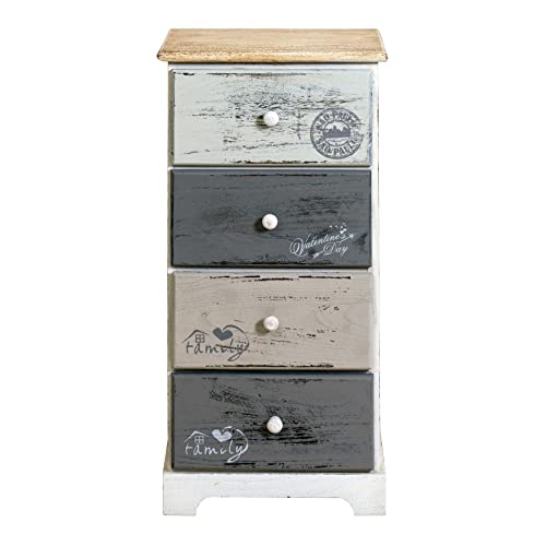 Piccole Cassettiere In Legno.Cassettiere Vintage Legno Amazon It
