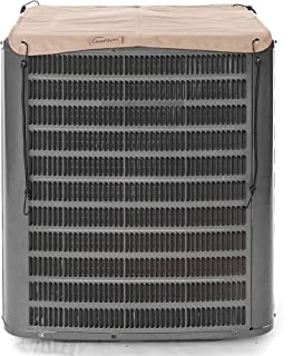 Covermates – Armor Top Air Conditioner Cover – AC Cover for Outdoor Protection – Water Resistant and Weatherproof - Ripstop Tan