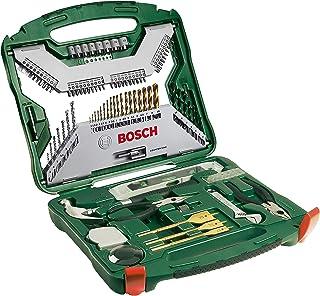 Bosch X-Line Titanio - Maletín de 103 unidades para taladrar y atornillar