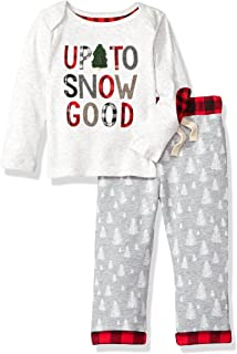Mud Pie Baby Boys' Christmas Holiday Long Sleeve Two Piece Play Set