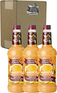 Master of Mixes White Peach Daiquiri/Margarita Drink Mix, Ready To Use, 1