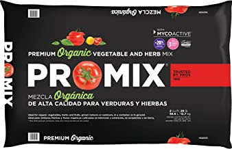 Premier Horticulture Inc 1020051RG 2CF Pro Mix Ultimate Organic Vegetable and Herb Mix
