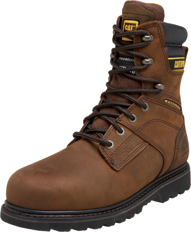 Caterpillar Men's Salvo 8  Waterproof Steel Toe Boot