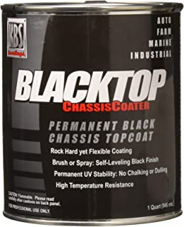 KBS Coatings 8402 OEM Satin Black BlackTop Chassis Paint - 1 Quart