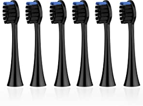 Replacement Electric Toothbrush Heads x 6 Compatible with Metene Sonic Toothbrushes Model of S2