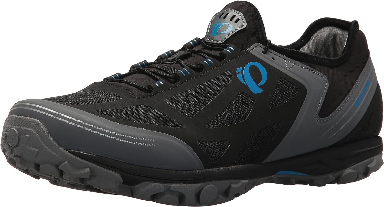 Pearl iZUMi Men's X-ALP Journey Cycling shoes, Black Shadow Grey, 43.0 M EU (9.5 US)