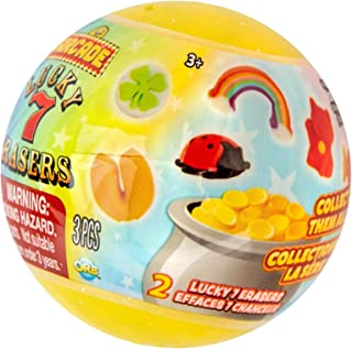 ORB Arcade Capsules Lucky 7 Erasers | 48 Capsules Display