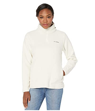 Columbia Canyon Pointtm Sherpa Pullover (Chalk) Women