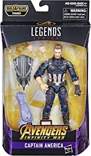 Marvel Figura Capitán América Legends The Best, 6 Pulgadas