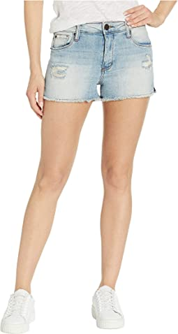 Aubrey High Rise Side Slit Shorts in North Millrich