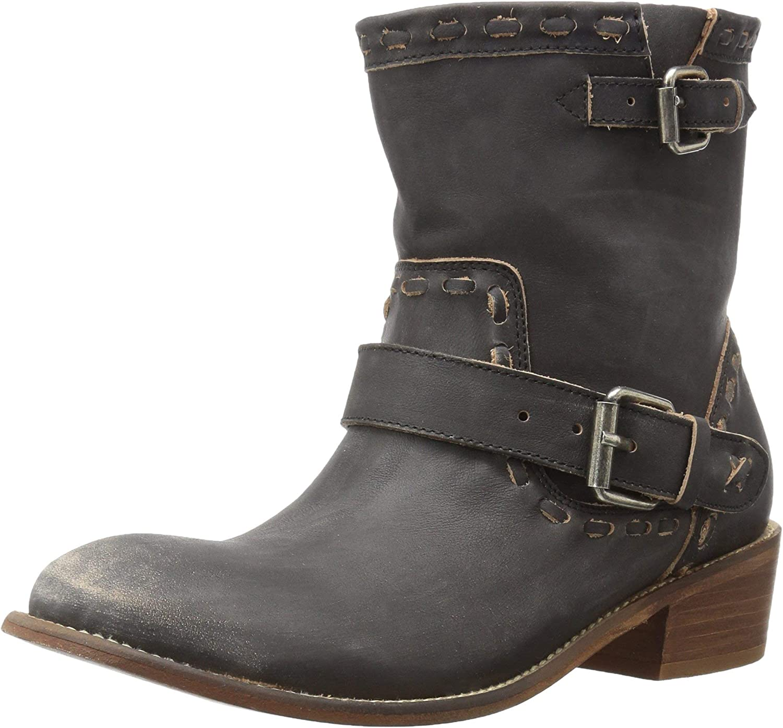 Musse & Cloud Women's Anzel Ankle Bootie Black