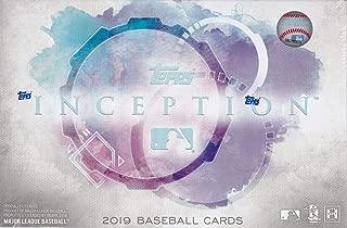 2019 Topps Inception MLB Baseball box (7 cards)