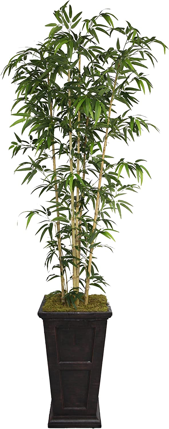 Vintage Home Portland Mall Green Emerald Artificial Bamboo Fibe Faux with Tree Ranking TOP7