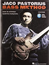 Jaco Pastorius Bass Method Lessons, Tips, and Techniques from His Private Teaching Archives Bk/Online Audio