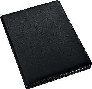 A4 Presentation Display Book – Black File Folder with 24 Pockets, 48/Sides – Storage Case Portfolio Folder with Plastic Sleeves - Poly Pocket Folder by Arpan (A4-24 Pockets/ 48 Sides)
