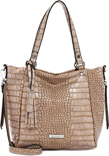 Emily & Noah Shopper Elisabeth 62843 Damen Handtaschen Animal sand 420 One Size