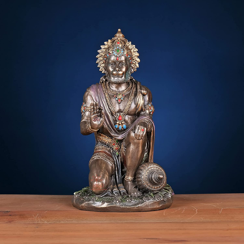 Max Max 85% OFF 41% OFF Ekaa Handicrafts Antique Cold Cast Ji Blessing Po Bronze Hanuman